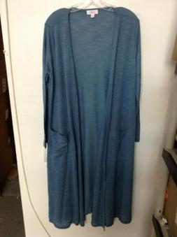 LuLaRoe Clothing Women's NWT Light Blue Sarah Lightweight St