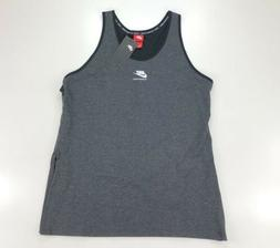 Nike International Gray Athletic Tank Top Racer Back Size XL