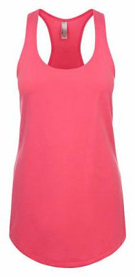 Next Level Apparel Women's Lightweight Jersey Self Fabric Ra